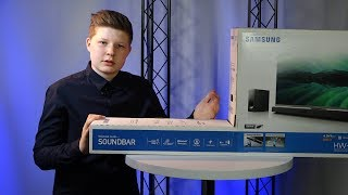 Samsung Soundbar + Subwoofer HW-J355 2.1 - Unboxing/Soundcheck
