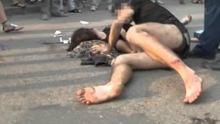 Очередная авария с участием мотоциклиста: парень травмирован, девушка в ...