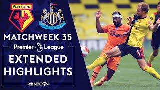 Watford v. Newcastle | PREMIER LEAGUE HIGHLIGHTS | 7/11/2020 | NBC Sports