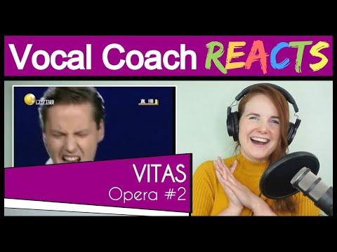 Vocal Coach reacts to Vitas - Opera #2 (Опера #2) / 2009 (Live)
