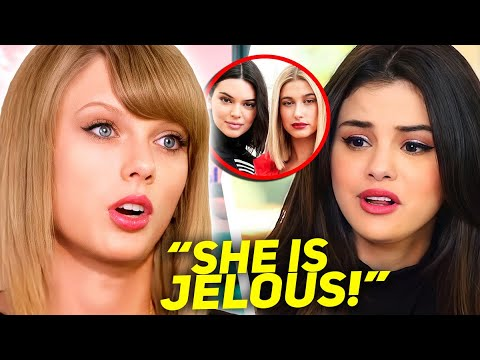 Taylor Swift ADMITS Why Kendall Jenner Hates Selena Gomez