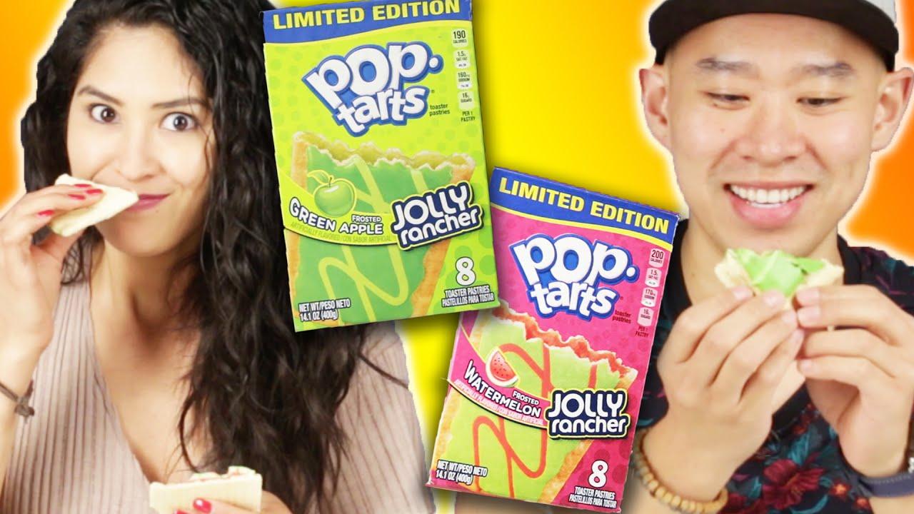 People Try Jolly Rancher Pop-Tarts thumbnail