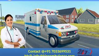 Get Quick and Fast Ground Ambulance in Koderma and Jamshedpur by King