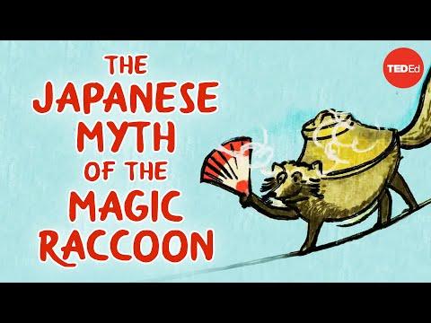 Japonský mýtus o lstivém tanukim