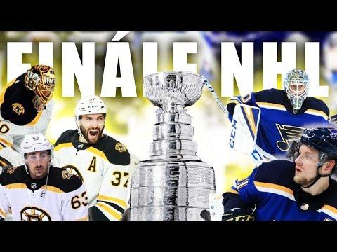 BOSTON vs. ST. LOUIS   Finále Stanley Cupu 2019