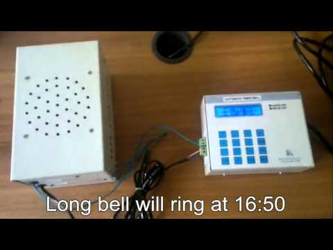 Automatic School Bell Timer (TBA)