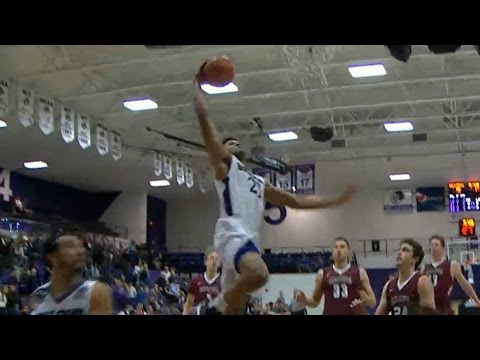 Patriot League Basketball Top 3 Plays Of The Week | January 15, 2017