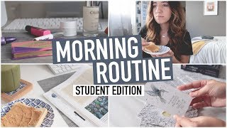 STUDENT MORNING ROUTINE | Fall 2018