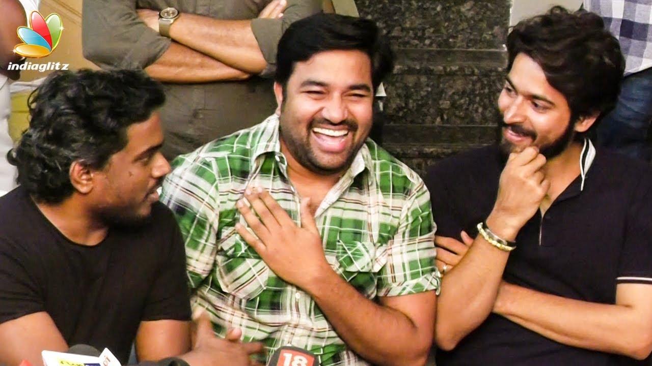 யுவன் மேல கோவம் இருக்கு  : Shiva Funny Speech   Harris Kalyan, Yuvan Shankar Raja   Press Meet