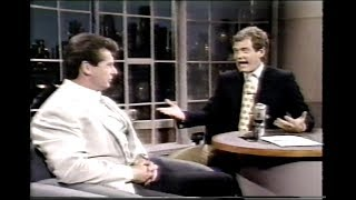 Vince McMahon on David Letterman - May 25th, 1989