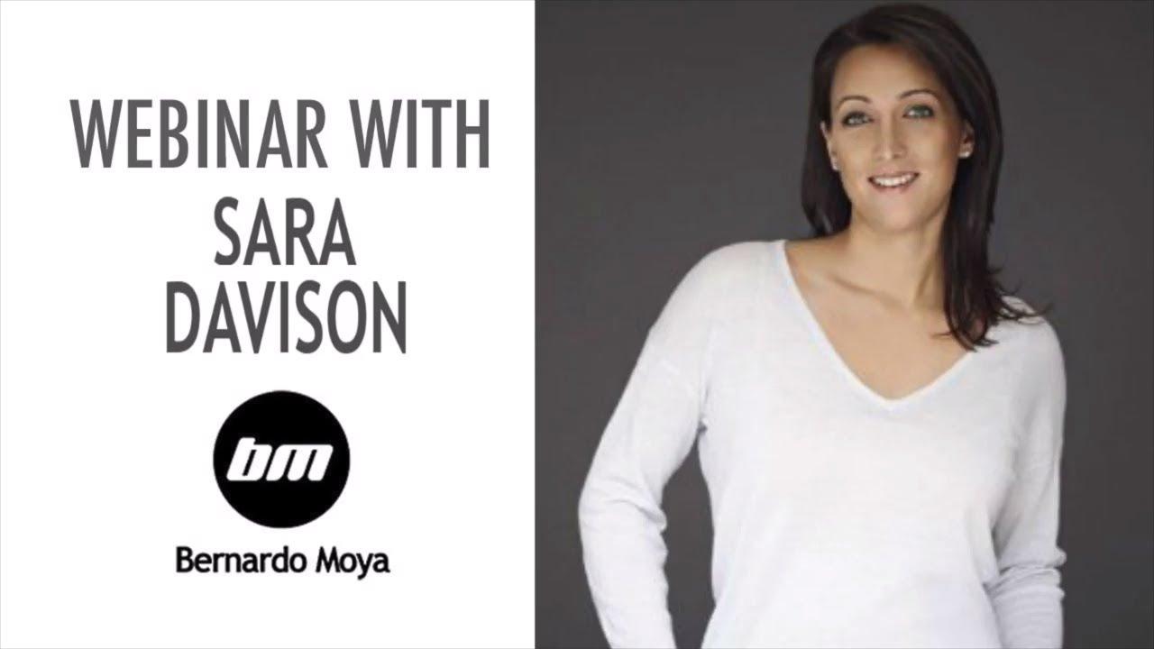 Webinar with Sara Davison