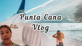 Travel Vlog to Punta Cana (Pack with me/ Travel Day)