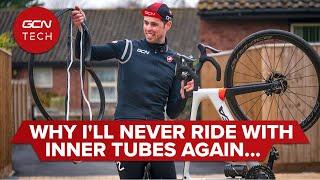 لايحتاج تحويل!   لماذا لن يستخدم أليكس أبدًا الأنابيب الداخلية على دراجته الهوائية مرة أخرى