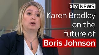 Paterson: Karen Bradley on Boris Johnson