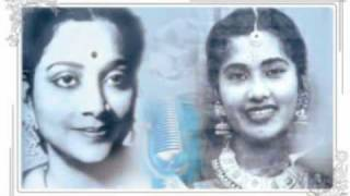 Geeta Dutt, Meena Kapoor : Aayi milane ki raat : Film - Jalte