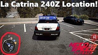Need For Speed Payback: La Catrina's 240Z ABANDONED CAR LOCATION!!