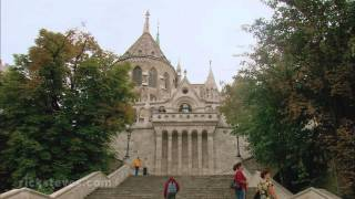 Budapest, Hungary: Castle Hill And Chain Bridge