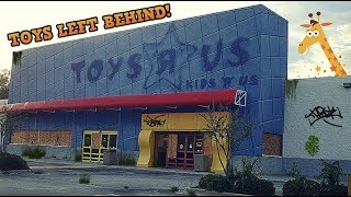 ABANDONED Toys R Us - With Toys Left Behind! (End Of An Era)