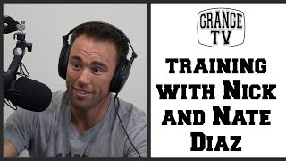 Jake Shields Talks About Training With Nick And Nate Diaz