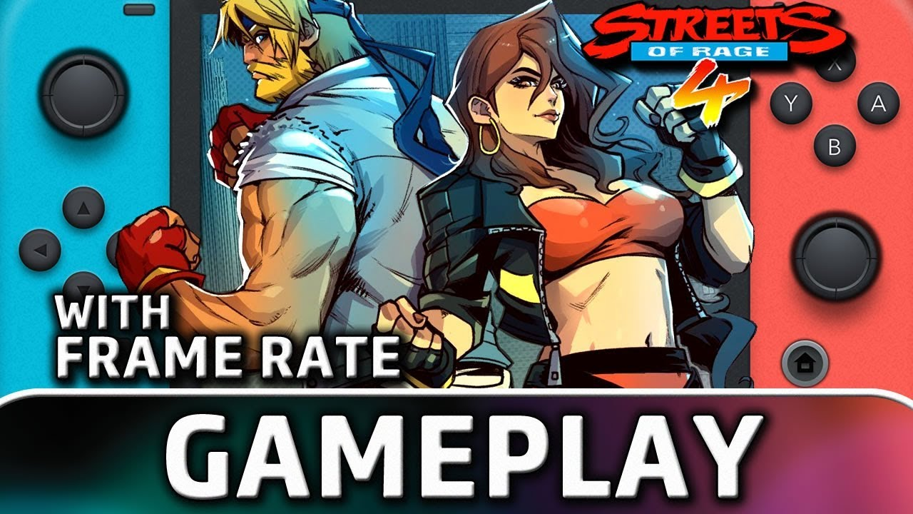 Streets of Rage 4 | Nintendo Switch Gameplay and Frame Rate