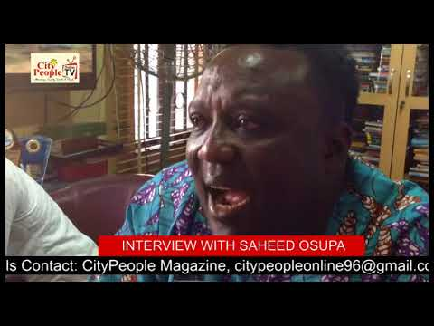 TRUE LIFE STORY OF SAHEED OSUPA  AND HOW HE STARTED SINGING