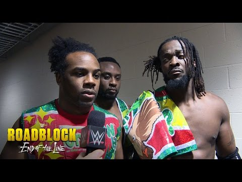 The New Day are left stunned at WWE Roadblock: WWE Roadblock Exclusive, Dec. 18, 2016