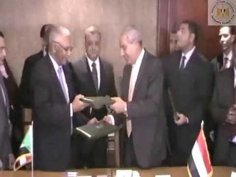 وزيرا تجارة مصر والسودان يترأسان الاجتماع الوزاري للجنة المشتركة