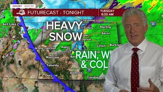 How much snow will fall?  Hourly Colorado forecast from Denver7 Weather