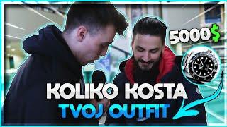 Koliko vredi tvoj outfit ? *part 3 Balkanski youtuberi* (Rolex 5k)