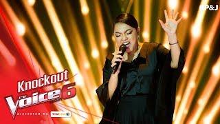 ฝ้าย - Stone Cold  - Knock Out - The Voice Thailand 6 - 7 Jan 2018