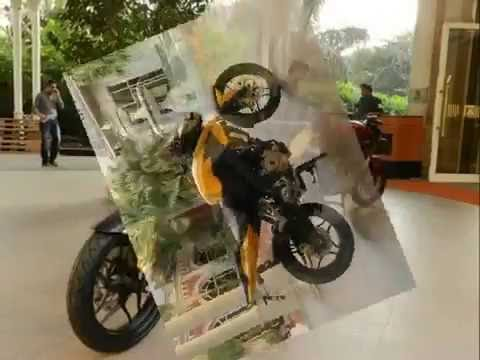 New Bajaj Pulsar 200NS - Shades Available - Autos and Vehicles - Videos at Maxabout.com.flv