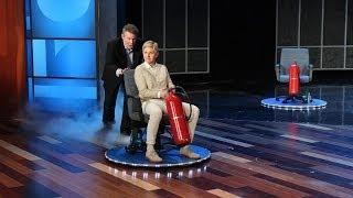 Steve Spangler Makes Ellen Float - dooclip.me