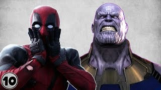 Top 10 Superheroes Who Annoy Thanos
