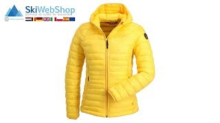 Napapijri, Aerons, winter jacket, women, spark yellow