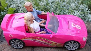 Gambar cover Barbie Convertible Radio Controlled Car Barbie Ultimate Puppy Mobile Little Girl Dolls Toys