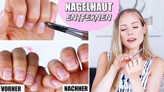 NAGELHAUT ENTFERNEN | Nails »Lalalunia«