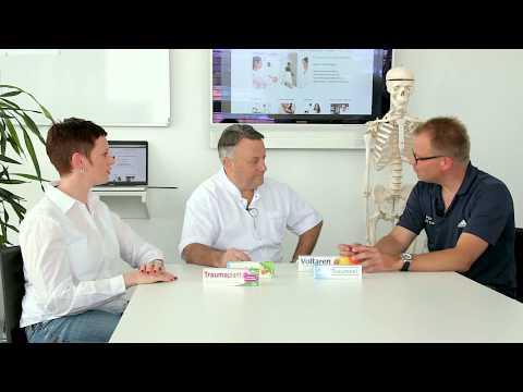 Sehnenreizung:  Sportmedizin Expertenrunde (Traumeel, Traumaplant, Voltaren, Kytta Salbe)
