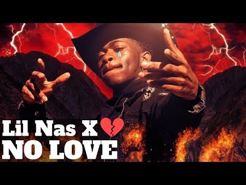 Lil Nas X - No Love (Lyric Video)
