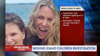 Lori Vallow-Daybell arrested in connection with the disappearance of her two children