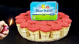 EXPERIMENT Match VS Blue Band Margarine