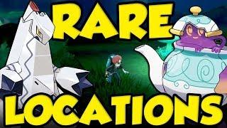 Indeedee  - (Pokémon) - NEW RARE POKEMON LOCATIONS IN POKEMON SWORD AND SHIELD - New Pokemon Location Sword and Shield