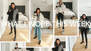 EASY WINTER OUTFIT IDEAS | What I Wore This Week | February 2020