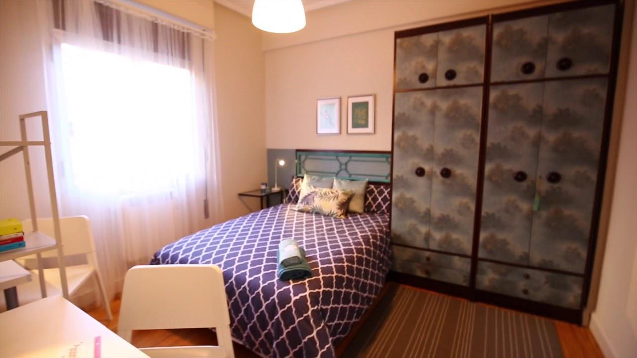 Rooms for rent in cozy 3-bedroom apartment in Uribarri