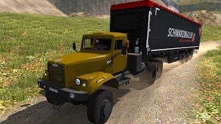 Euro Truck Simulator 2 - Xe Kpa3 Nga Ngố đi kéo hàng qua đường đèo dốc | ND Gaming