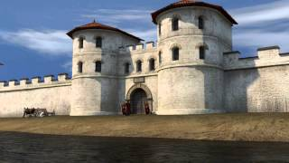 preview picture of video 'Passau in römischer Zeit - 3D Animation'