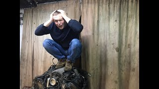 Покрутил стартером и опять в яму. BMW 7-Series. ШИШИГА. Эпизод 7.