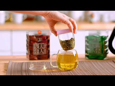Завариваем Лунцзин в заварочной чашке «Тянь Жень»