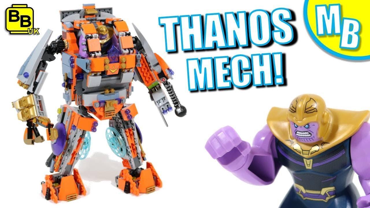 LEGO THANOS MECH! END GAME 76107 & 76104 MULTI-BUILD!