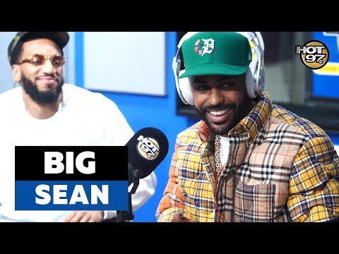 Went Off: Big Sean Drops A Fire Freestyle On Hot 97 With Funk Flex!