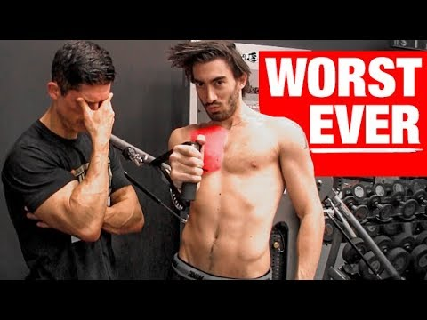 The DUMBEST Chest Exercise Ever (WARNING!!)